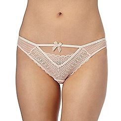 Nine by Savannah Miller - Light pink lace bikini knickers