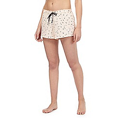 Nine by Savannah Miller - Pink spot print shorts