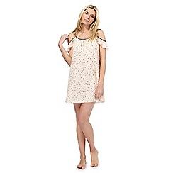 Nine by Savannah Miller - Pink spot print chemise
