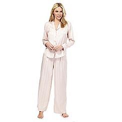 Nine by Savannah Miller - Pink striped pyjama set
