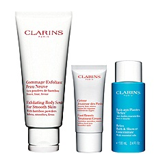 Clarins - 'Foot Pampering Essentials' skin care gift set