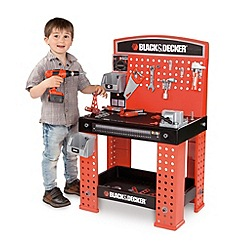 Smoby - Black And Decker Super Workbench