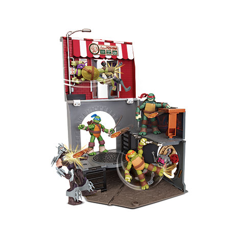 Teenage Mutant Ninja Turtles - Pop-Up Pizza Playset Anchovy Alley