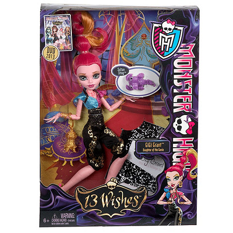 Monster High - 13 Wishes Gigi Doll