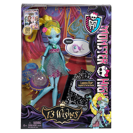 Monster High - 13 Wishes Lagoona Blue Doll