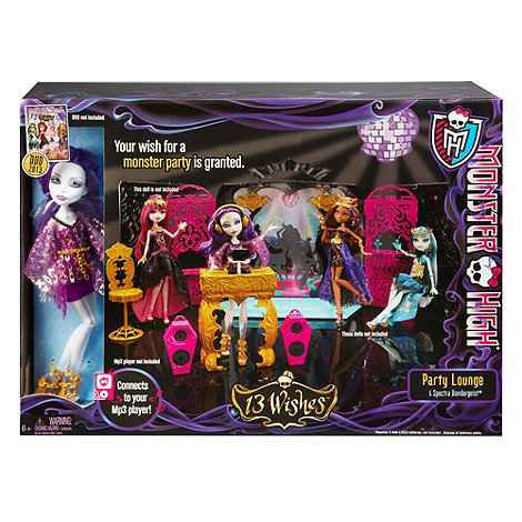 Monster High - 13 Wishes Party Lounge And Spectra Vondergeist