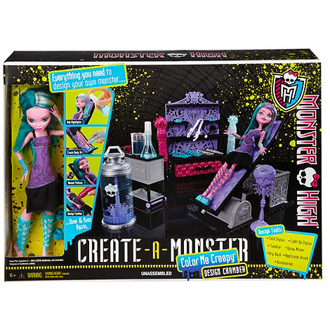 Monster High - Create A Monster Colour Me Creepy Design Chamber