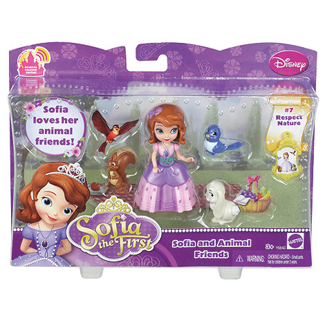 Disney Sofia the First - Sofia And Animal Friends