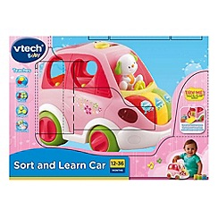 VTech Baby - Sort & Learn Car - Pink