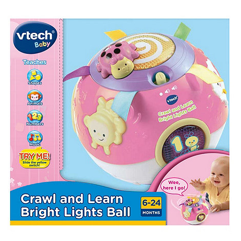 VTech - Baby Crawl & Lights Ball - Pink