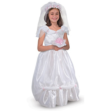 Melissa & Doug - Bride Dress Up Set - One Size