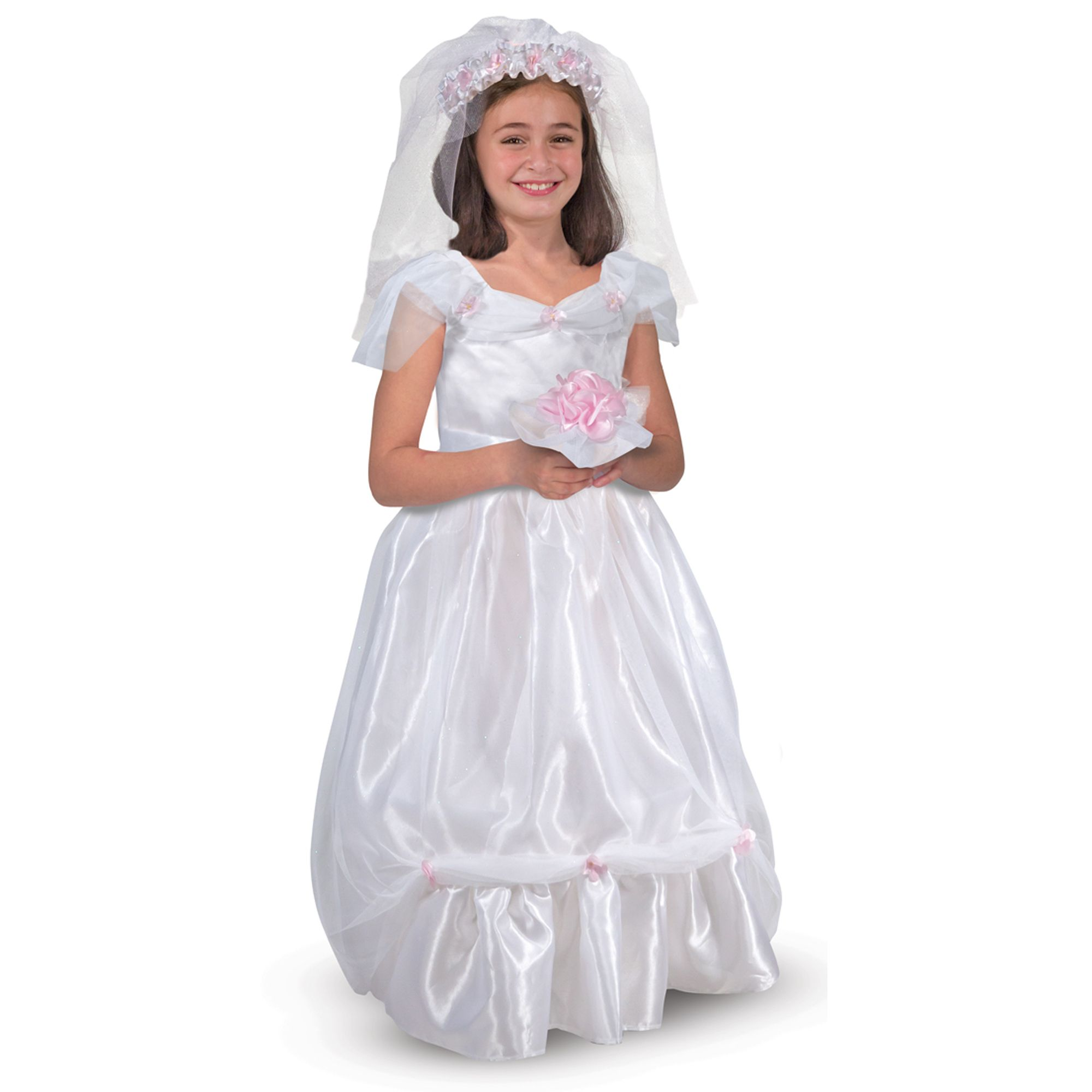 melissa doug bride dress up set one size from