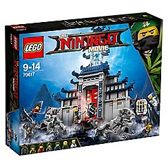 LEGO - Ninjago Movie Temple of The Ultimate Weapon - 70617