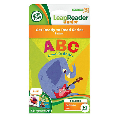 LeapFrog - LeapReader Junior Book Animal Orchestra Alphabet ABC