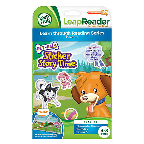 LeapFrog - LeapReader Activity Storybook :  Pet Pals Sticker Story Time