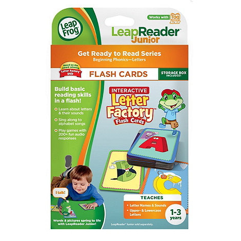 LeapFrog - LeapReader Junior Flash Cards : Interactive Letter Factory