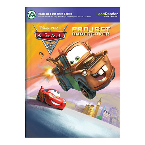 LeapFrog - LeapReader Activity Storybook Disney Pixar Cars 2: Project Undercover