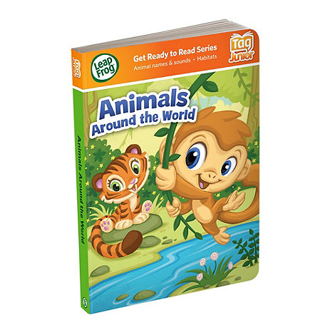 LeapFrog - LeapReader Junior Book : Animals Around The World