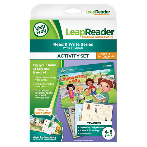 LeapFrog - LeapReader Book: Write it! Engineering a Win