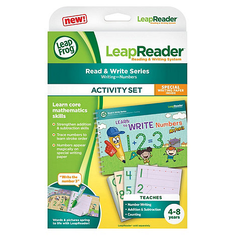 LeapFrog - LeapReader Book : Learn to Write Numbers with Mr Pencil