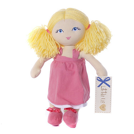 Little Us - 12inch Rag Dolls - Chloe