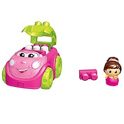 Mega Bloks - Mega First Builders Catie Convertible (Pink)