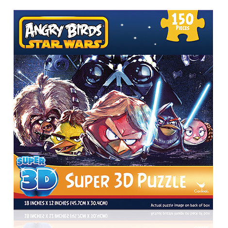 Angry Birds Star Wars - 3D  150 Pc Puzzle