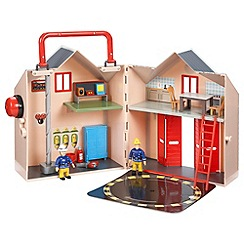 Fireman Sam - Deluxe Fire Station Playset