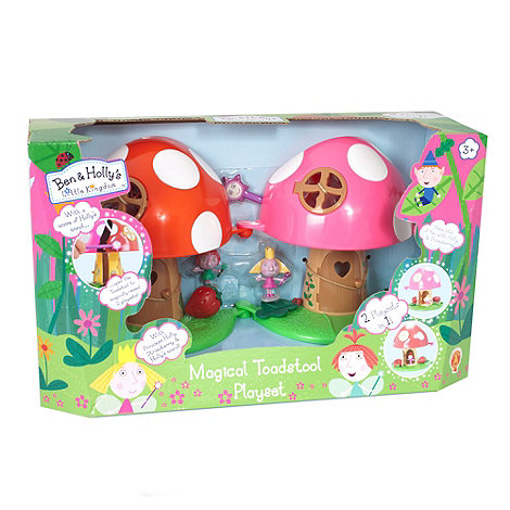 Ben & Holly+s Little kingdom - Magical Toadstool Playset