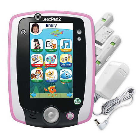 LeapFrog - LeapPad2 Power (Pink)