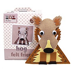 LuMoo - make-your-own Hog Felt Friend