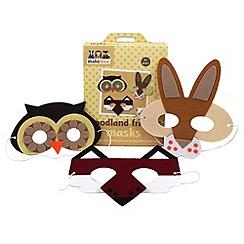 LuMoo - make-your-own Woodland Friends Felt Masks
