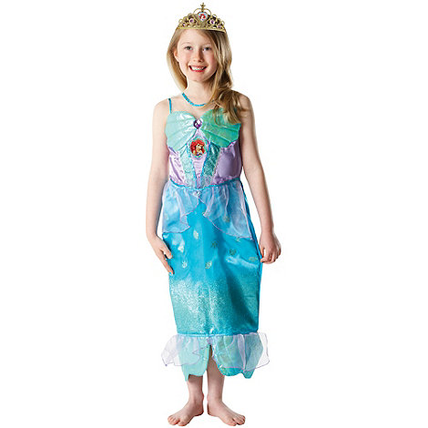 Rubie+s - Disney Princess Glitter Ariel Dress Up - 5-7 Years