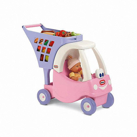 Little Tikes - Pink cozy shopping cart