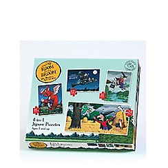 Room on the Broom - 4 In 1 Puzzle
