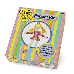 Paul Lamond Games - Crafty Kids - Fairy Princess Puppet Kit