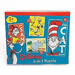 Paul Lamond Games - Dr Suess 4 In 1 Puzzle