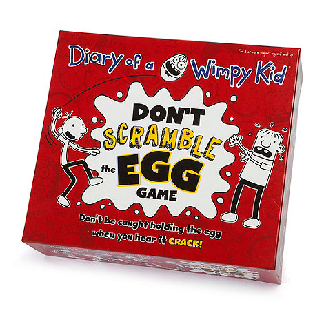 Paul Lamond Games - Diary Of A Wimpy Kid Scrambled Egg Game