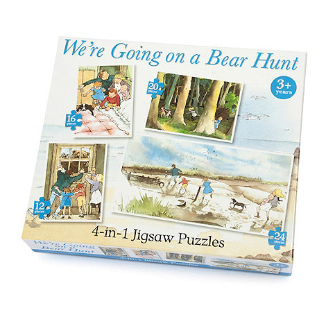 Paul Lamond Games - Bear Hunt 4 In 1 Puzzle
