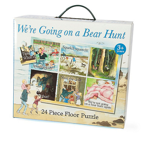 Paul Lamond Games - Bear Hunt Floor Puzzle