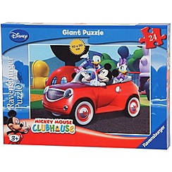 Mickey Mouse Clubhouse - Ravensburger Giant Floor Puzzle, 24pc
