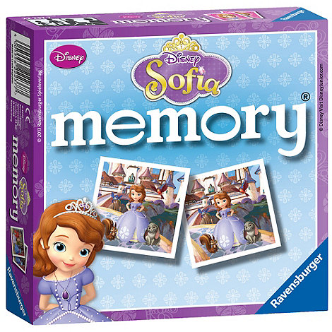 Disney Sofia the First - Mini memory
