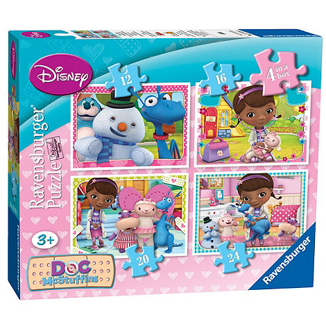 Doc McStuffins - Ravensburger 4 in Box