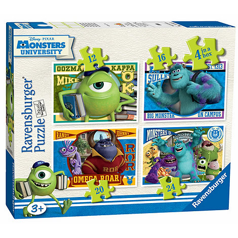 Monsters University - 4 in Box