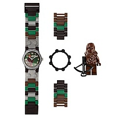 LEGO - Star Wars Chewbacca watch with minifigure