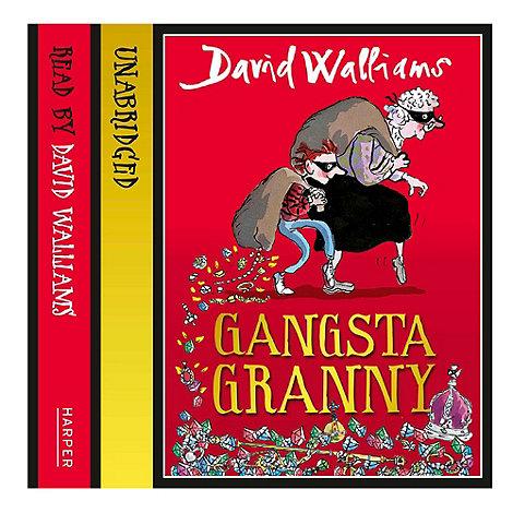 Debenhams - Gangsta Granny CD audio