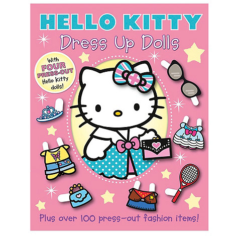 Hello Kitty - Dress Up Dolls activity book