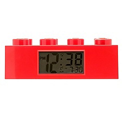 Lego - Red brick clock