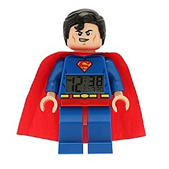 Lego - DC Super Heroes Superman clock