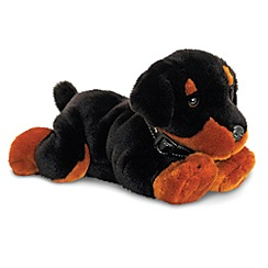 Keel - 30cm Black Puppy